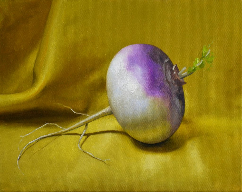 Turnip 8″ x 10″sold