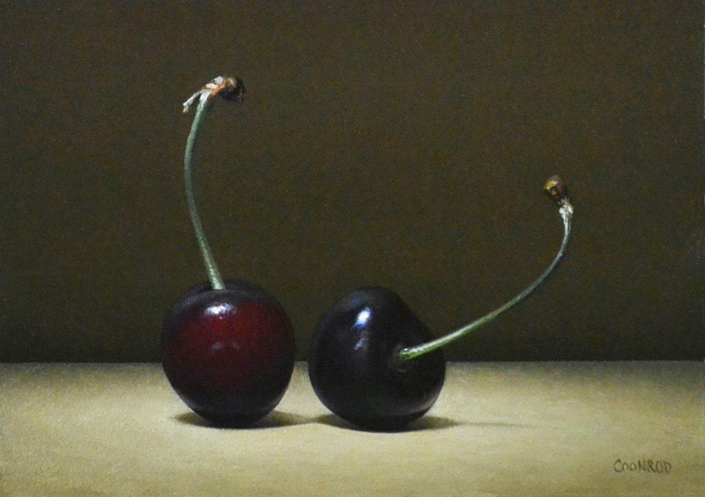 """2 Cherries5"""" x 7""""   sold"""