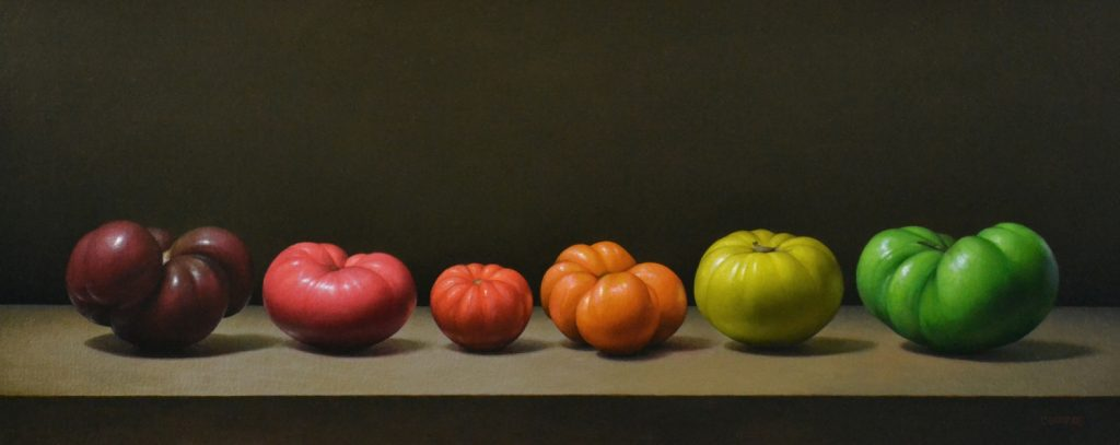 "6 Heirloom Tomatoes12"" x 30"""
