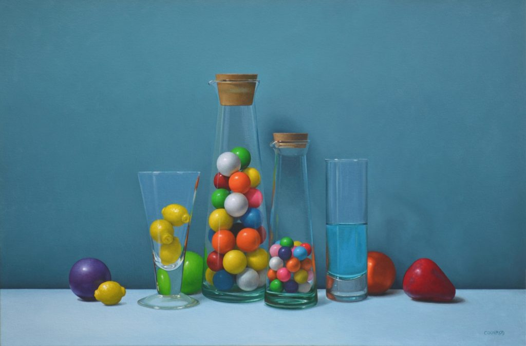"Gumballs and Kool-Aid   20"" x 30"""