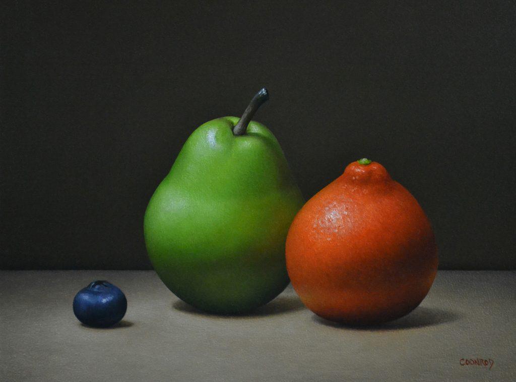 "Minneola Orange, Pear, and Blueberry8""x 10"""