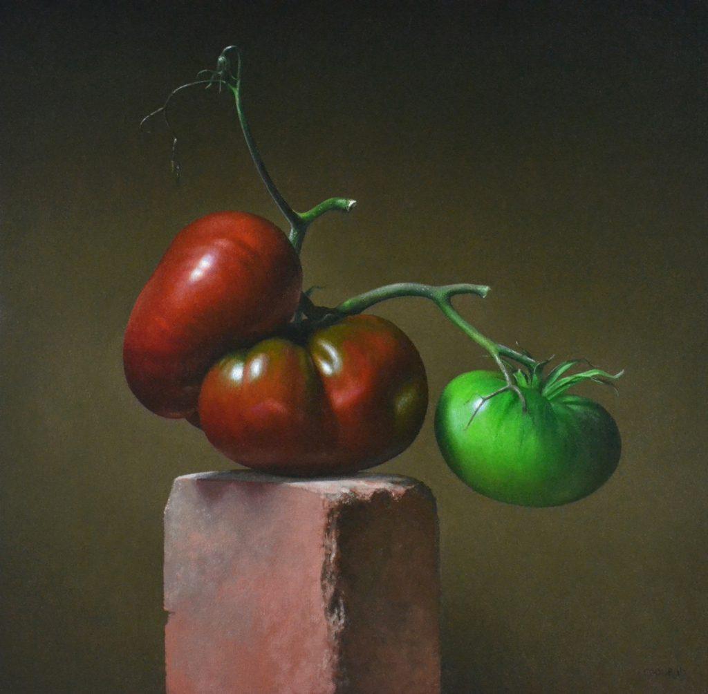 "2 Tomatoes20"" x 20"""