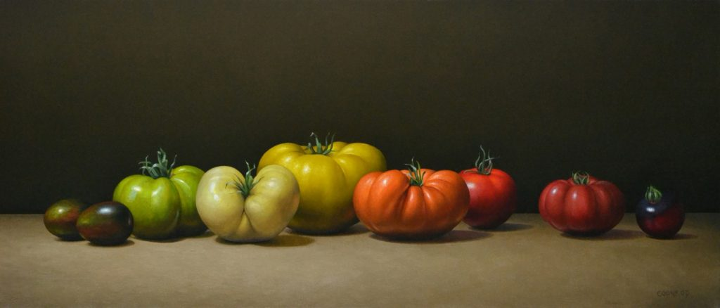 """Heirloom Tomatoes12""""x28""""sold"""