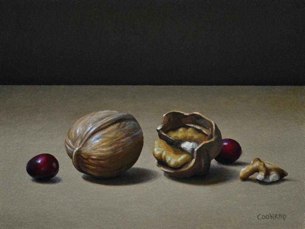 "Walnuts and Cranberries6""x8"""